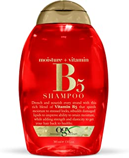 OGX Moisture + Vitamin B5 Shampoo, 13 Ounce