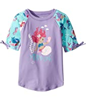 Underwater Kingdom Short Sleeve Rashguard (Toddler/Little Kids/Big Kids)