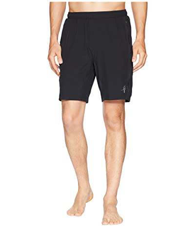 Toes on the Nose Jaws Volley Trainer Shorts (Black) Men