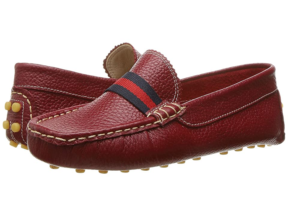 Elephantito Club Loafer (Toddler/Little Kid/Big Kid) (Racing Red) Boys Shoes