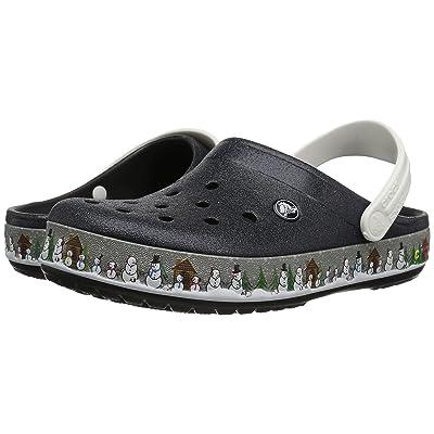 Crocs Crocbandtm Holiday Clog (Black) Clog Shoes