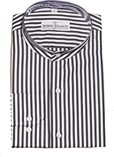 ab43846991 Formal Grandad Collar Mens Shirt, Plain, Floral, Striped, sizes small to 4XL