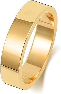 Anello Fede Nuziale Uomo/Donna 5mm in Oro giallo 18k (750) WJS1883218KY