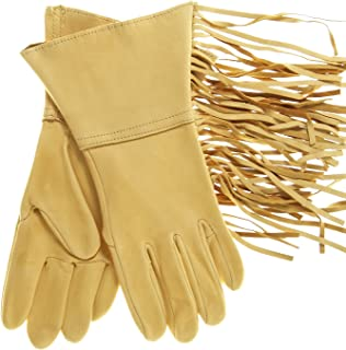 Best western leather gloves with fringe Reviews