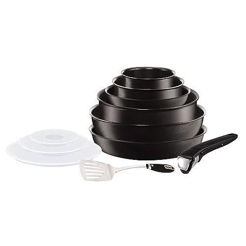 Tefal L6509902 Set de poêles et casseroles - Ingenio 5 Expertise Set 11 Pièces - Tous feux dont induction