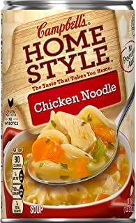 Campbell's Homestyle Soup, Chicken Noodle, 18.6 oz. (Pack of 12)