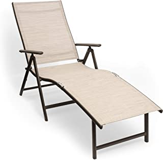 coral coast southwick padded sling outdoor chaise lounge