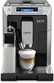 Delonghi ECAM45760B Digital Super Automatic Espresso Machine with Latte Crema System, Black (Renewed)