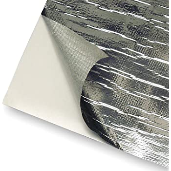 """Design Engineering 010462 Reflect-A-Cool Heat Reflective Adhesive Backed Sheets, 24"""" x 24"""""""