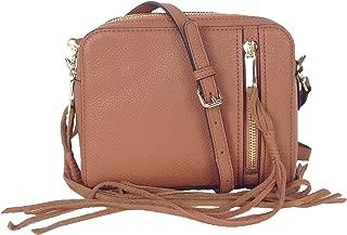 Rebecca Minkoff India Leather Crossbody Bag, Almond