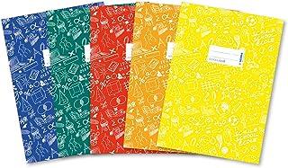 HERMA 20211 okładki na zeszyty DIN A4 SCHOOLYDOO z etykietą do opisania, wykonane z wytrzymałej i zmywalnej folii poliprop...