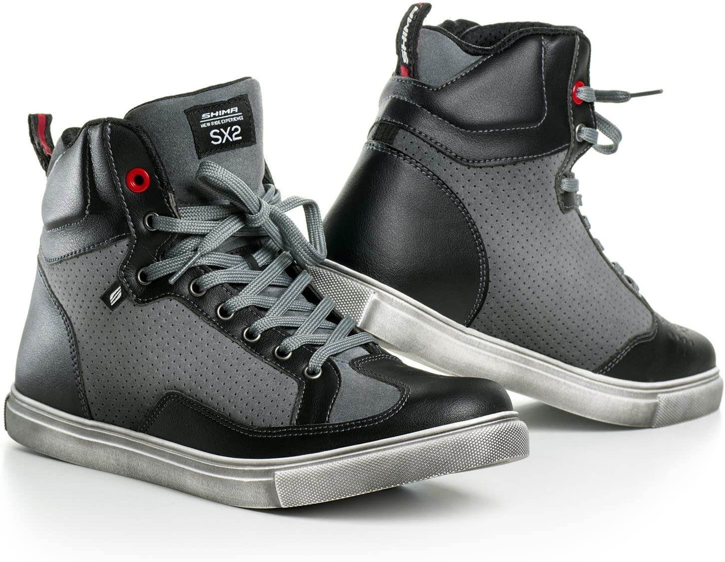 Max 72% OFF SHIMA SX-2 Selling Motorcycle Shoes for Reinf Breathable men Leather