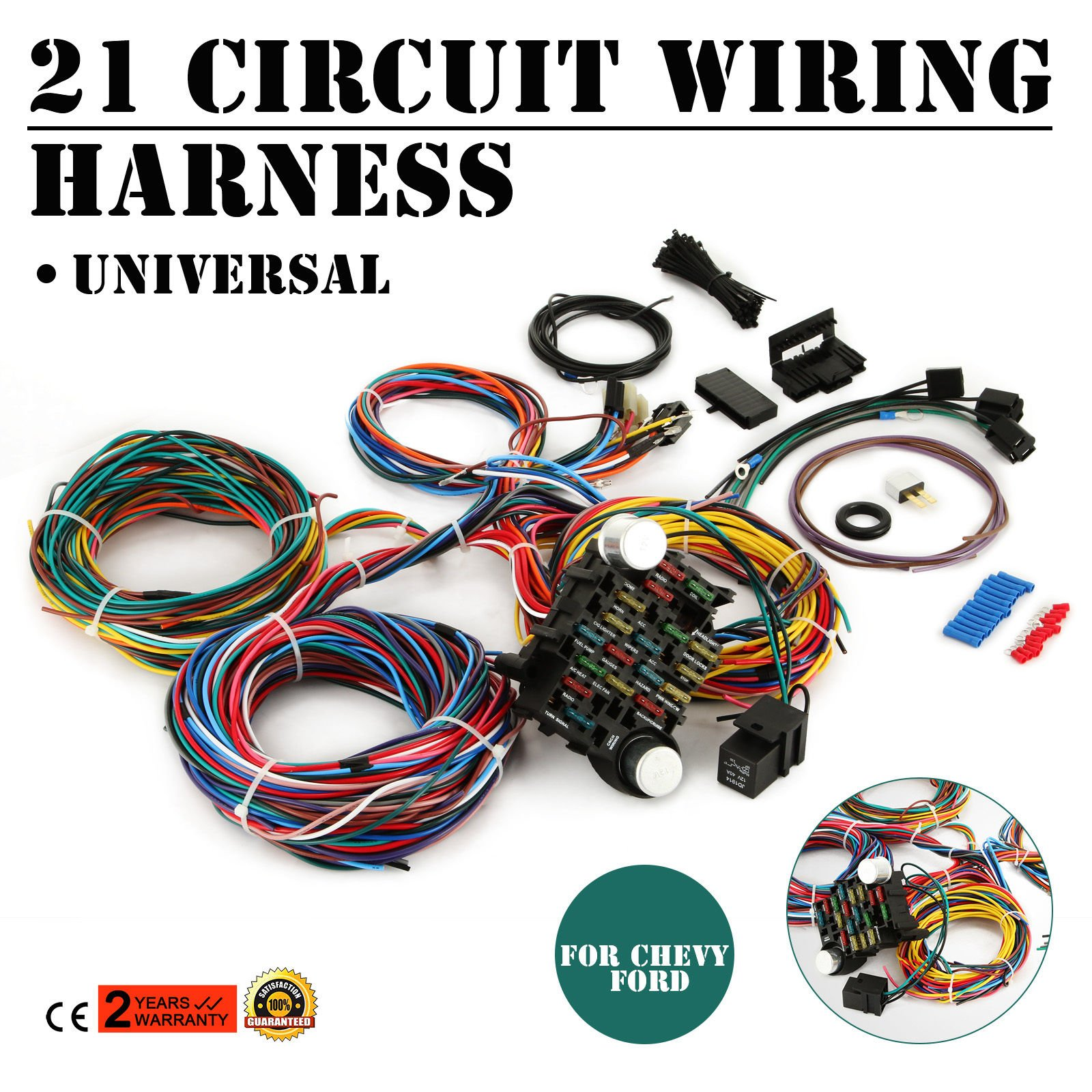 Universal Auto Wiring Harness Kits | WIRING DIAGRAM TUTORIAL on