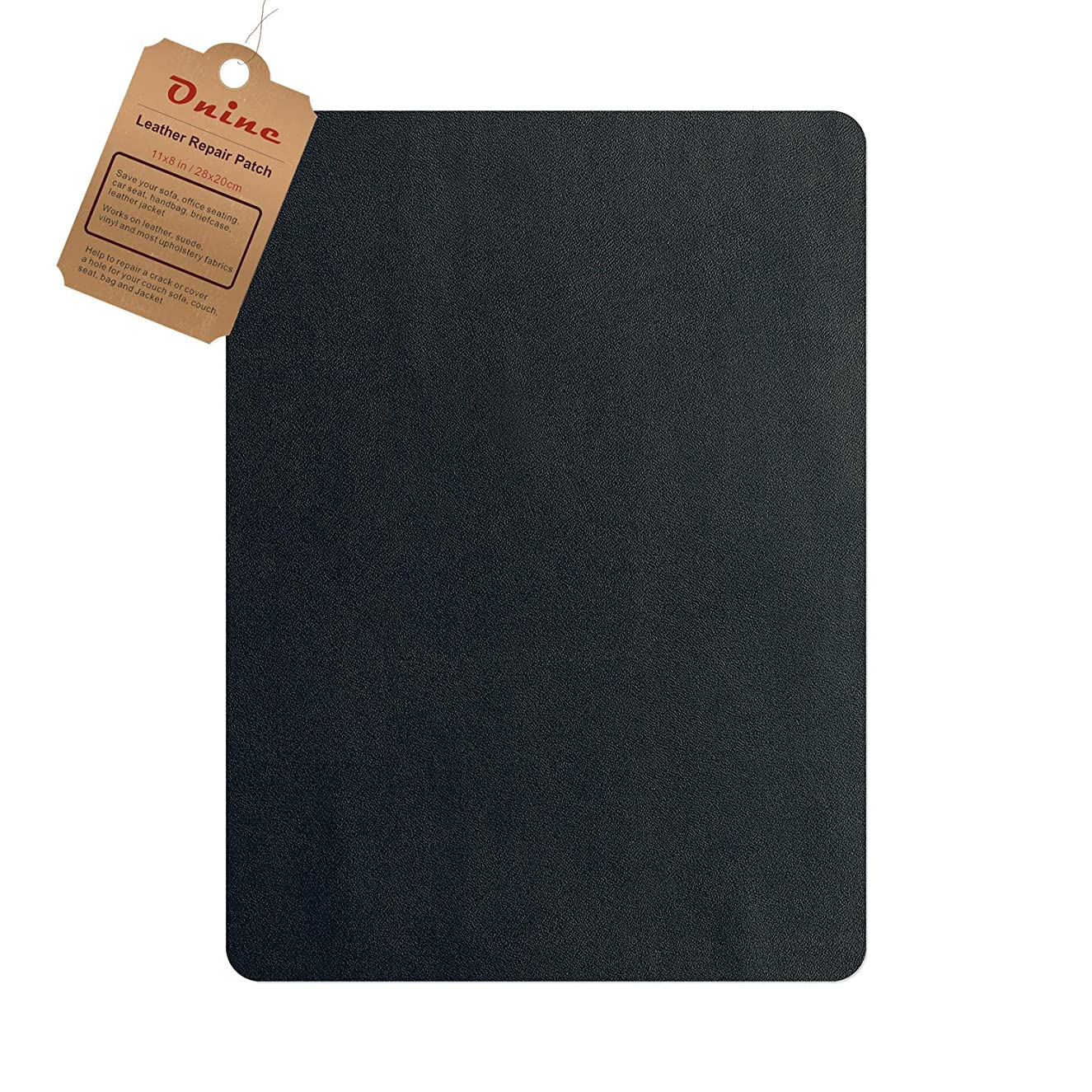 Leather Repair Patch,Self-Adhesive Couch Patch,Multicolor Available Anti Scratch Leather 8X11 Inch Peel and Stick for Sofas, car Seats Hand Bags Jackets (Navy Blue)