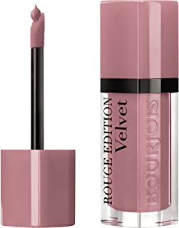 Bourjois Rouge Edition Velvet Liquid Lipstick, Happy Nude Year, 6.7ml