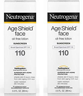 Neutrogena Age Shield Face Lotion SPF 110-3 oz, 2 pack