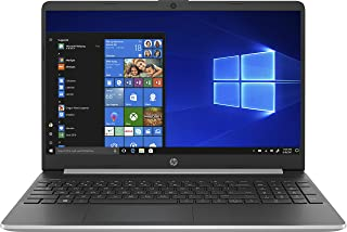 HP 15s-fq1001ne 15.6 inches LED Laptop (Silver) - Intel Core i3-1005G1 Up to 3.4 GHz, 4 GB RAM, 256 GB SSD, Intel UHD Grap...