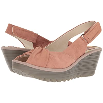 FLY LONDON YATA820FLY (Rose/Concrete Cupido) Women