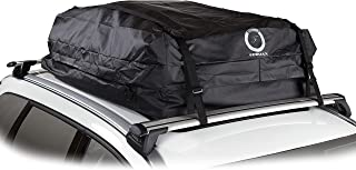 Fedmax Car Rooftop Carrier for Small Cars | Waterproof | Lock Included | Roof Top Luggage Bag (12CFT - Use with Racks)