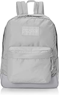 JanSport Mono SuperBreak Backpack - Monochrome Trend Collection Laptop Bag, Sleet