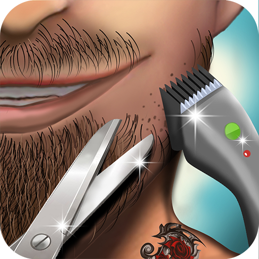 coiffeur jeux de salon de coiffure boutique, coupe de...