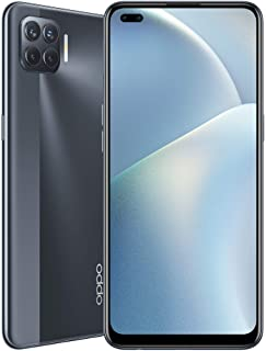 "OPPO A93 Smartphone 8GB + 128GB, 164G, CPH2121, 7.5 Thickness, Anroid10, 16.7M AMOLED Matte Black color 6.43"""" Display"""