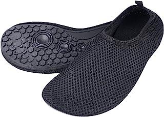 comprar comparacion Eco-Fused Zapatos de Agua con Tela Transpirable, Elástica y de Secado Rápido con Suela de Goma Antideslizante - Protege co...