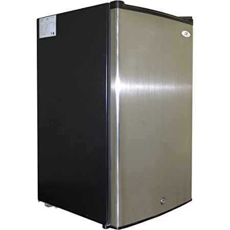 SPT UF-304SS: 3.0 cu.ft. Upright Freezer in Stainless Steel - ENERGY STAR