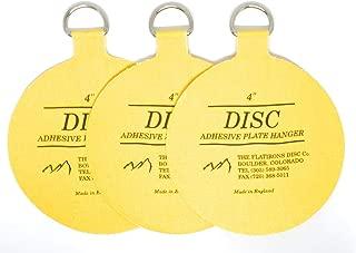 Flatirons Disc Bulk Buy Plate Hanger 4 inch for Plates Up to 12 inch (300mm) Diameter DPH4 (3-Pack)