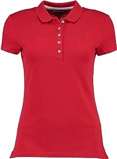 Tommy Hilfiger Women's New Chiara Pique Short Sleeve Polo