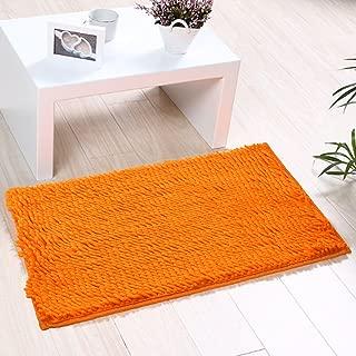 Indoor Doormat Non-slip & Water-absorbent Chenille Microfiber Floor Bath Mat Carpet Entrance Rug for Bedroom,Sitting Room and Bathroom 15.7