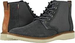 Water Resistant Forged Iron Suede/Rugged Canvas