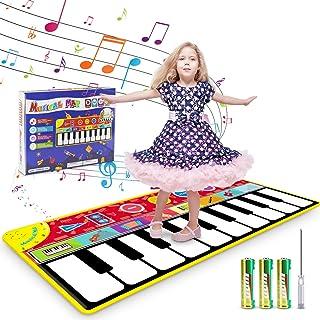 Renfox Kids Musical Piano Mats - Dance & Learn Keybo