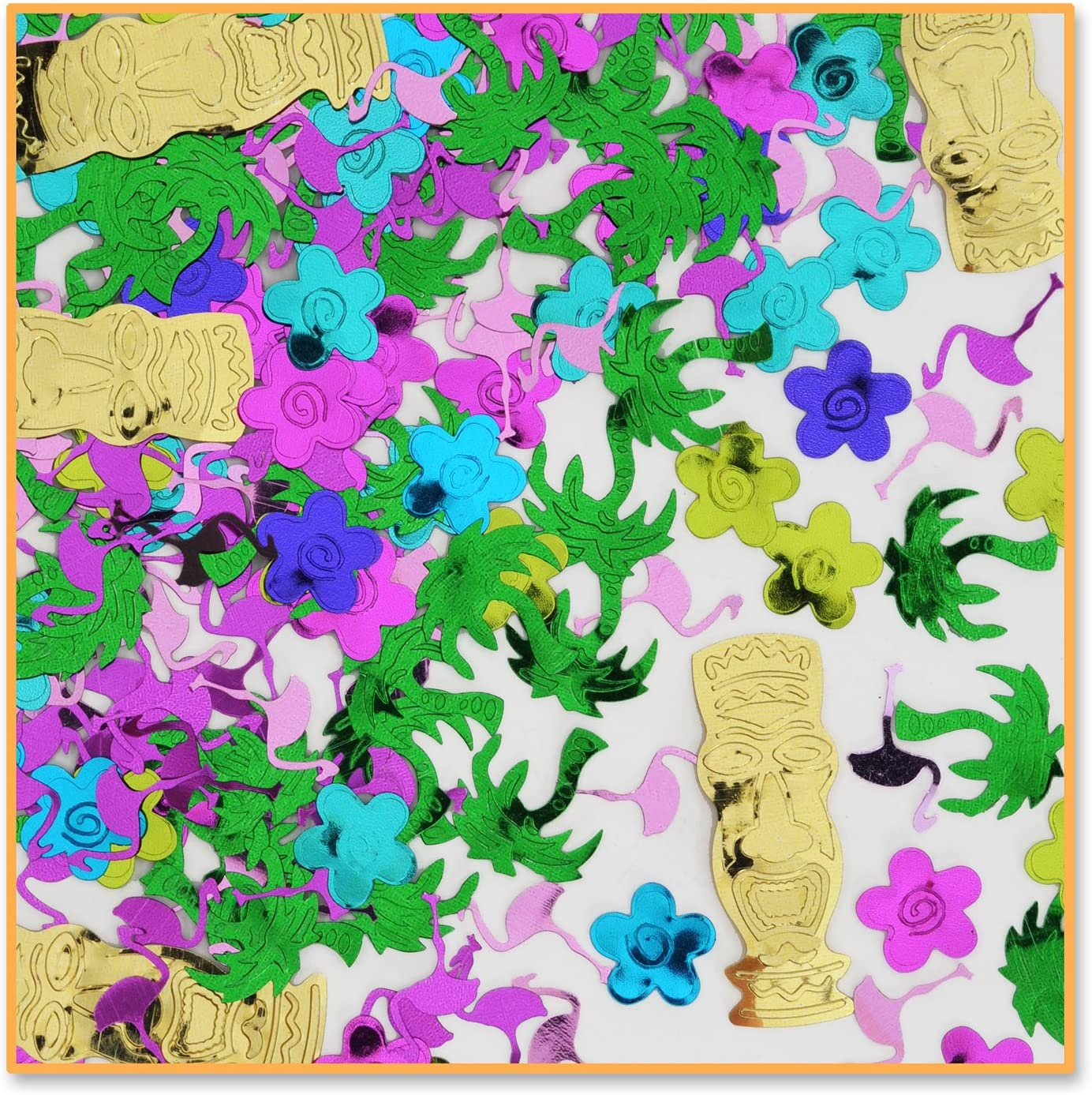 Island Party Confetti (Pack of 48)