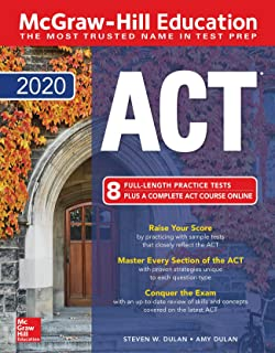 McGraw-Hill Education ACT 2020 edition