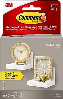 Best Command Display Ledges, Quartz, 2-Ledges, 8-Medium Foam Strips (HOM23Q-2ES), Great for Dorm Decor Review
