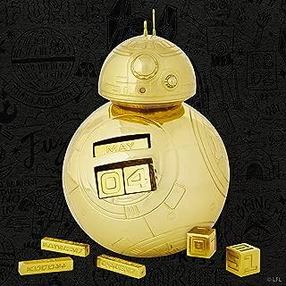 Pop Minded SDCC 2018 Hallmark Event Exclusive Star Wars Gold BB-8 Perpetual Calendar
