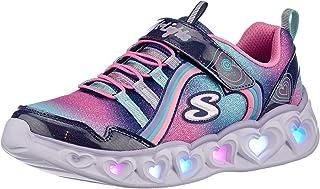 Skechers Heart Lights Rainbow Lux, Basket Fille