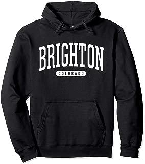 College Style Brighton Colorado Souvenir Gift Pullover Hoodie
