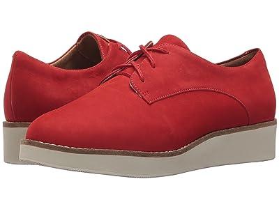 SoftWalk Willis (Red Smooth Nubuck Leather) Women