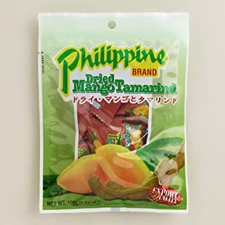 Dried Mango Tamarind Candy - Philippine Brand - 2 x 100 gr - Original from the Philippines