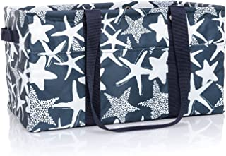 large utility tote starfish splash