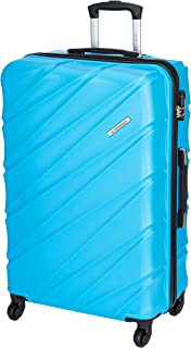 United Colors of Benetton Roadster Hardcase Luggage ABS 77 cms Sky Blue Hardsided Check-in Luggage (0IP6HAB28B02I)