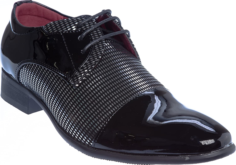 shoes Picker novak01 Mens Lace-up Oxford Dress-shoes