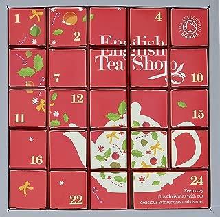 Holiday Advent Tea Calendar for Christmas, 24 Tea Days til' Christmas, Countdown Calendar for Anyone On Your List, Season Treats, Gift Ideas, Sweet Presents (English Tea Shop)