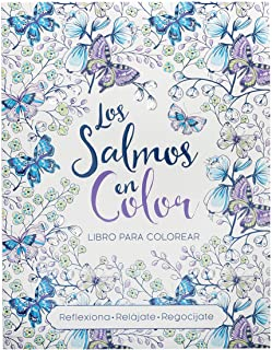 Psalms In Color Bible Verse Coloring Book In Spanish (Spanish Edition)