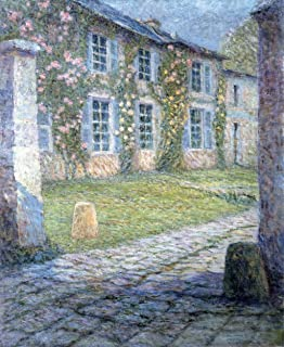 Odsan Gallery The Pink House At Versailles - By Henri Le Sidaner - Canvas Prints 20