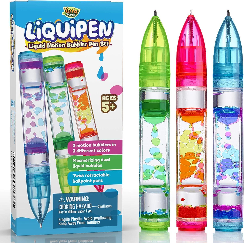 YoYa Toys Liquipen - Liquid Motion Ranking TOP4 Bubbler Pens P Toy 3 low-pricing Sensory