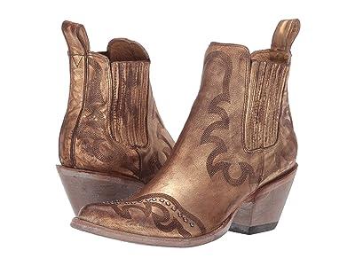 Old Gringo Shay (Metallic Gold) Cowboy Boots