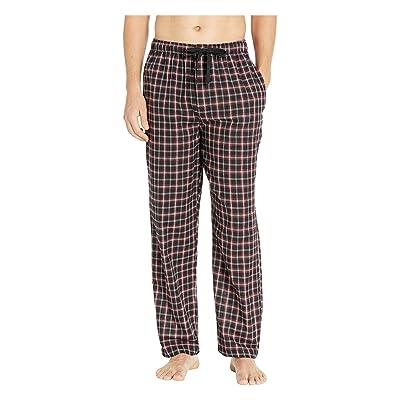 Jockey Broadcloth Pajama Pants (Ebony) Men